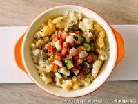 黑木耳蒟蒻佐薯餅鮮蔬沙拉.柯媽媽植物燕窩