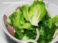 ㄚ曼達的廚房~清炒高麗菜苗