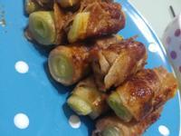 味噌京蔥豚肉卷