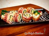 培根蛋無米壽司