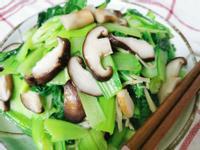 香菇素炒青菜