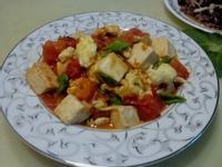 莎媽五心級料理~『100%純天然 亨氏番茄醬』蕃茄豆腐炒蛋