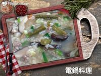 菜豆肉絲粥