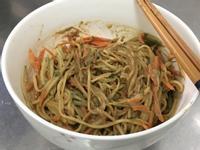秘制蒜香麻醬麵