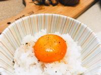 【日式食堂】月見醬油漬飯🍚
