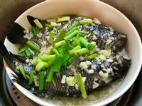 清蒸石斑魚~蒜多多版