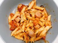 懶人電鍋番茄肉醬義大利麵