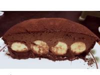 生巧克力香蕉派