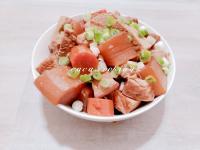 白蘿蔔香滷肉(電子壓力鍋)