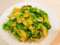 蒜炒球芽甘藍(10分鐘料理)