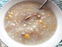 懶人料理:粟米吞拿魚粥