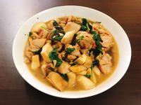 塔香杏鮑菇雞肉