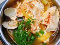 韓式蛤蜊豆腐鍋