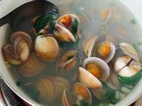 海味滿滿。赤嘴蛤蜊湯