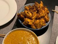 峇里島風味雞肉Satay和美味花生醬料