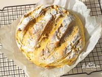 ⋐鑄鐵鍋麵包⋑ 燕麥咖哩堅果麵包
