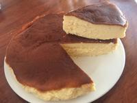 巴斯克乳酪蛋糕簡單做(氣炸鍋)