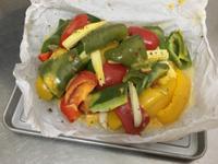 義式起司烤蔬菜*紙包菜料理*美味健康