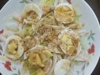 味磳雞肉蛋沙拉