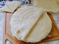 自製潤餅皮(春捲皮)