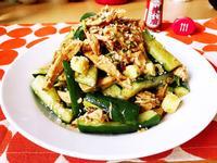 涼拌小黃瓜雞胸肉(簡易/低卡/減醣)