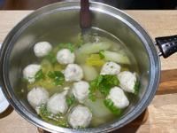 黃瓜魚丸湯