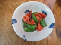 蝦醬甜豆蕃茄