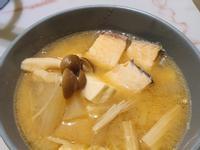 鮭魚味噌鍋