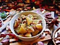豚の煮物/豬肉燉白菜頭