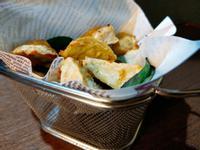 鹹酥杏鮑菇 (氣炸鍋料理)