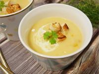 零技巧「玉米濃湯」比餐廳還要好喝 ♡