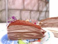 巧克力千層蛋糕