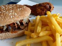 自製牛肉漢堡