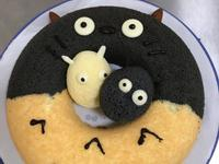 龍貓戚風蛋糕