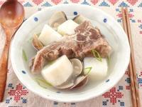 【厚生廚房】山藥文蛤排骨湯