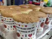 蜂蜜杯子蛋糕