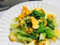 小白菜炒蛋