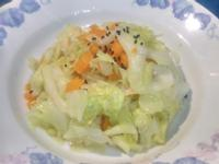 麻油炒高麗菜