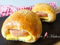 【影片】餐肉雞蛋包(湯種法)