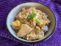 超級蛋白質雞肉親子丼