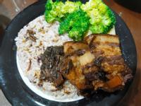 [每日主菜]-梅干控肉