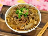 牛丼蓋飯(壽喜燒牛肉)