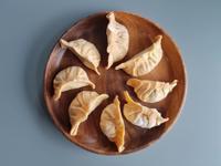山茼蒿豆腐餃