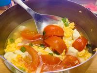 番茄豆腐蛋花湯❤️