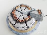 黑芝麻竹碳千層蛋糕