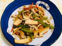 (素)雜菜炒豆干