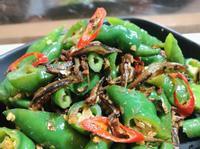 青龍辣椒炒小魚乾 便當菜下酒菜