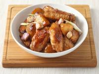 淘大食谱『薯仔炆雞翼』