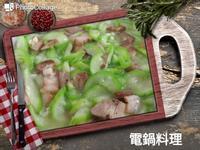 鹹豬肉炒絲瓜