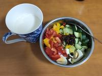 [戒醣/減醣早餐]水煮蛋彩虹沙拉